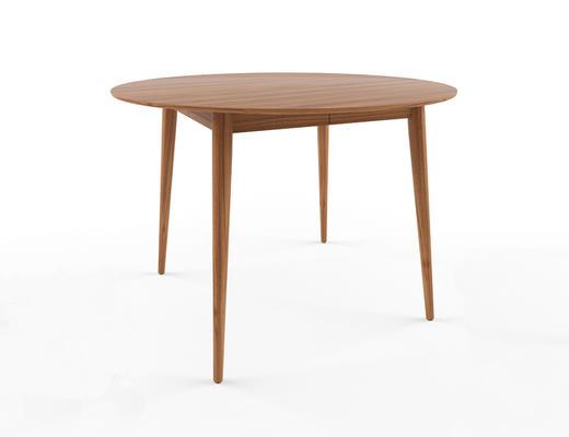 北欧简约, 实木, 桌子, 北欧桌子
