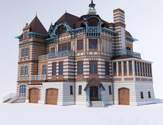 别墅, 模型